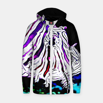 poisonous exotic lionfish va Zip up hoodie thumbnail image