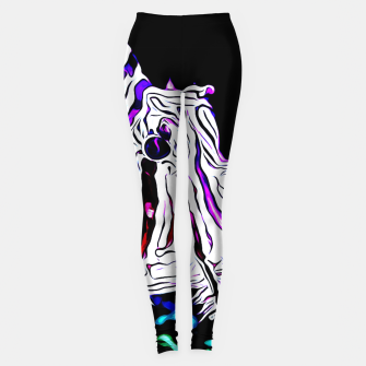 poisonous exotic lionfish va Leggings thumbnail image