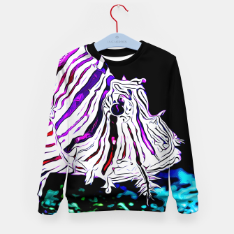 poisonous exotic lionfish va Kid's sweater thumbnail image