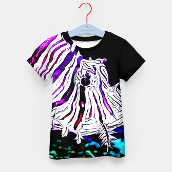 Miniature de image de poisonous exotic lionfish va Kid's t-shirt, Live Heroes