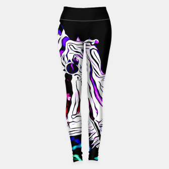 Miniature de image de poisonous exotic lionfish va Leggings, Live Heroes