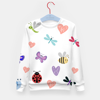 Thumbnail image of Apple-23 Kid's sweater, Live Heroes
