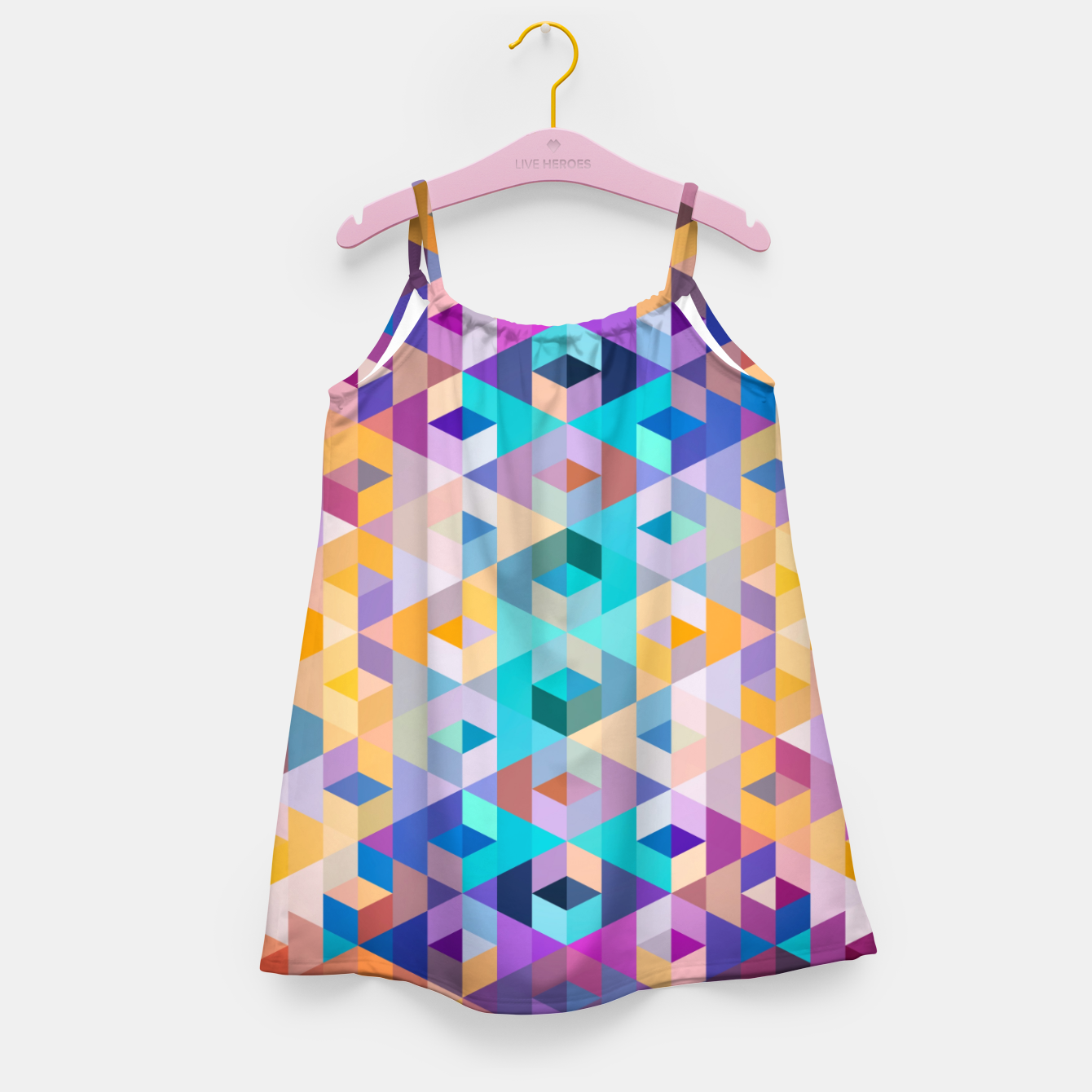 Zdjęcie VIVID PATTERN III Girl's dress - Live Heroes