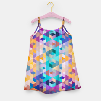 VIVID PATTERN III Girl's dress obraz miniatury