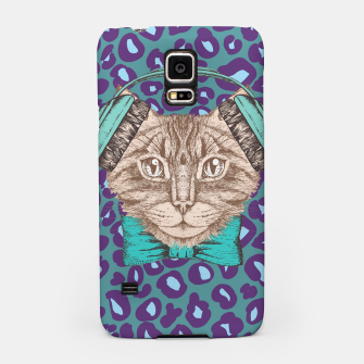 Thumbnail image of Cat Music Skin Samsung Case, Live Heroes