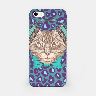 Thumbnail image of Cat Music Skin iPhone Case, Live Heroes