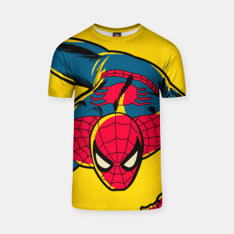 Miniatur Spider T-shirt, Live Heroes