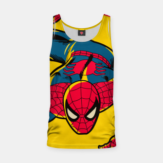 Thumbnail image of Spider Tank Top, Live Heroes