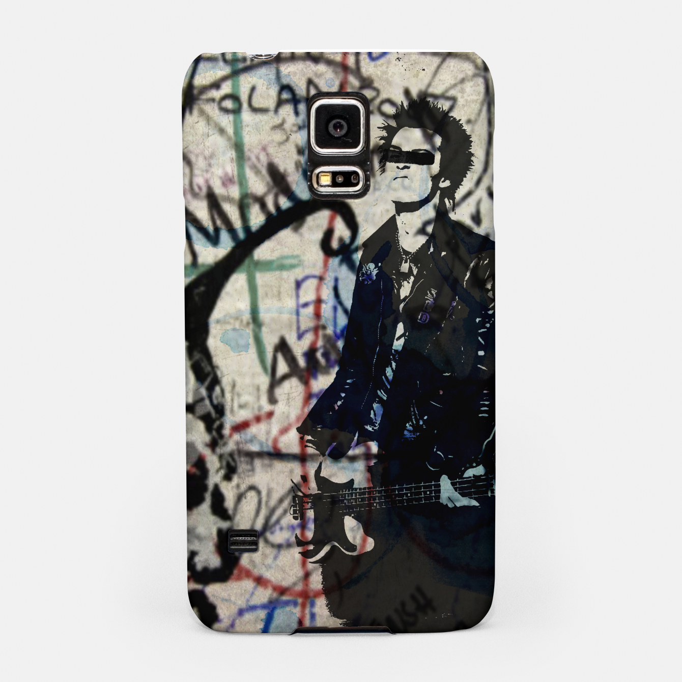 Foto Graffitied - Punk Vicious Samsung Case - Live Heroes