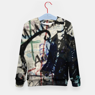 Graffitied - Punk Vicious Kid's sweater Bild der Miniatur