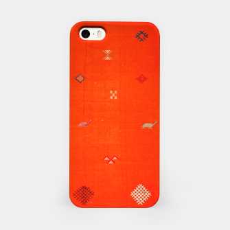 Miniaturka Vintage Orange Anthropologie Moroccan Artwork. iPhone Case, Live Heroes