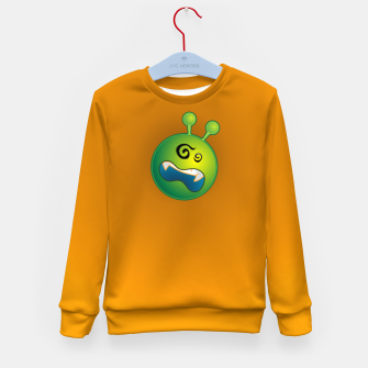 Miniatur Alien Kid's sweater, Live Heroes