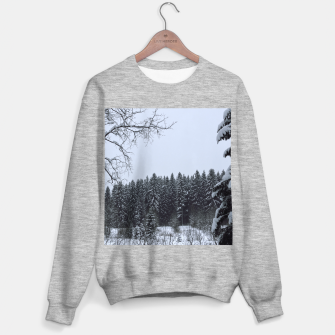 Thumbnail image of Trees and snow Sweater regular, Live Heroes