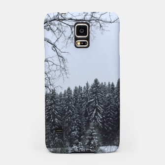 Thumbnail image of Trees and snow Samsung Case, Live Heroes