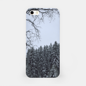 Thumbnail image of Trees and snow iPhone Case, Live Heroes