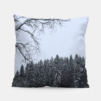 Thumbnail image of Trees and snow Pillow, Live Heroes