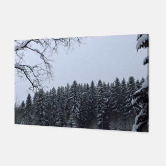Thumbnail image of Trees and snow Canvas, Live Heroes