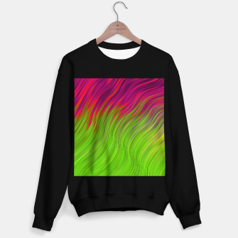Miniature de image de stripes wave pattern 2 with lines vw81i Sweater regular, Live Heroes