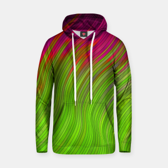 stripes wave pattern 2 with lines vw81i Hoodie miniature