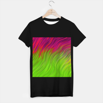 Miniature de image de stripes wave pattern 2 with lines vw81i T-shirt regular, Live Heroes