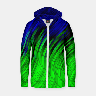stripes wave pattern 2 with lines vtgi Zip up hoodie Bild der Miniatur