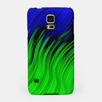 stripes wave pattern 2 with lines vtgi Samsung Case Bild der Miniatur