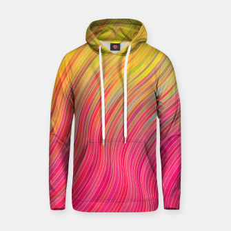 Miniature de image de stripes wave pattern 2 with lines vw81 Hoodie, Live Heroes