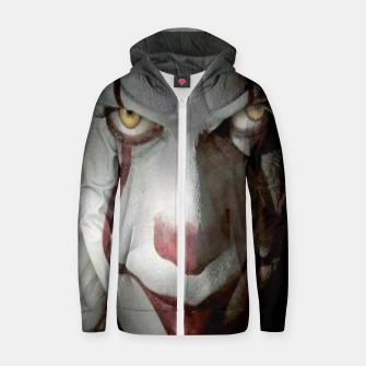 Thumbnail image of Clown Zip up hoodie, Live Heroes