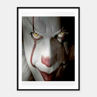 Thumbnail image of Clown Framed poster, Live Heroes