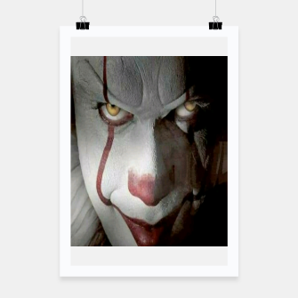 Thumbnail image of Clown Poster, Live Heroes