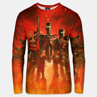 Thumbnail image of In The Heat Of Battle Unisex sweater, Live Heroes