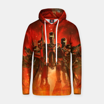 Thumbnail image of In The Heat Of Battle Hoodie, Live Heroes