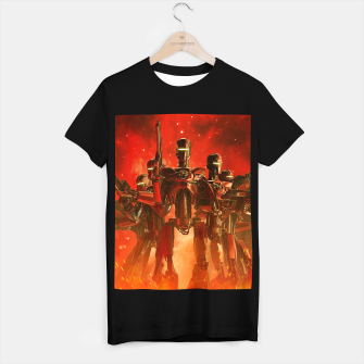 Thumbnail image of In The Heat Of Battle T-shirt regular, Live Heroes