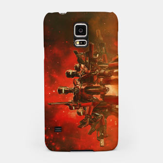 Thumbnail image of In The Heat Of Battle Samsung Case, Live Heroes