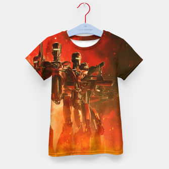 Thumbnail image of In The Heat Of Battle Kid's t-shirt, Live Heroes