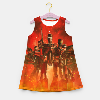 Thumbnail image of In The Heat Of Battle Girl's summer dress, Live Heroes