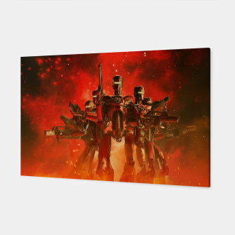 Thumbnail image of In The Heat Of Battle Canvas, Live Heroes