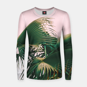 Thumbnail image of Palm Love Women sweater, Live Heroes