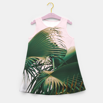 Thumbnail image of Palm Love Girl's summer dress, Live Heroes