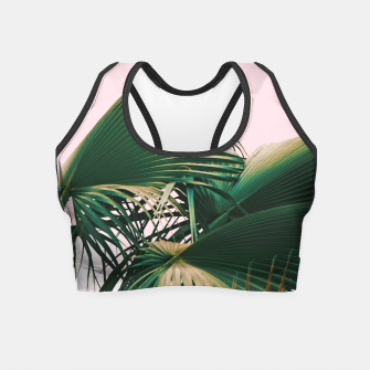 Thumbnail image of Palm Love Crop Top, Live Heroes