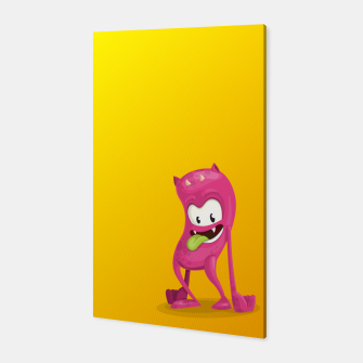 Thumbnail image of Pink Monster Canvas, Live Heroes