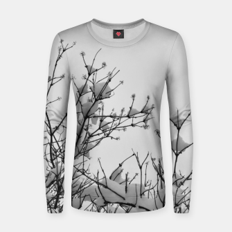 Miniaturka Snow on branches Women sweater, Live Heroes