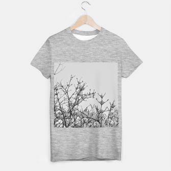 Thumbnail image of Snow on branches T-shirt regular, Live Heroes