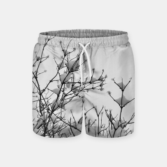 Thumbnail image of Snow on branches Swim Shorts, Live Heroes