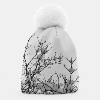 Thumbnail image of Snow on branches Beanie, Live Heroes
