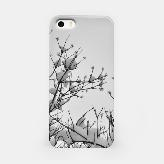 Thumbnail image of Snow on branches iPhone Case, Live Heroes