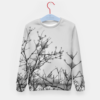 Miniaturka Snow on branches Kid's sweater, Live Heroes