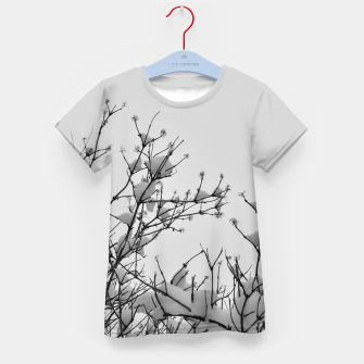 Miniaturka Snow on branches Kid's t-shirt, Live Heroes