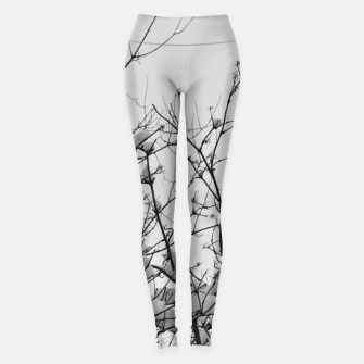 Thumbnail image of Snow on branches Leggings, Live Heroes