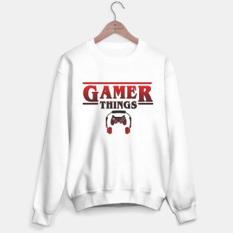 Thumbnail image of Gamer Things Sweater regular, Live Heroes